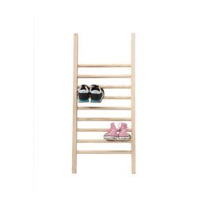 Odkládací žebřík na boty Linen Couture Escalera S Natural, výška 90 cm