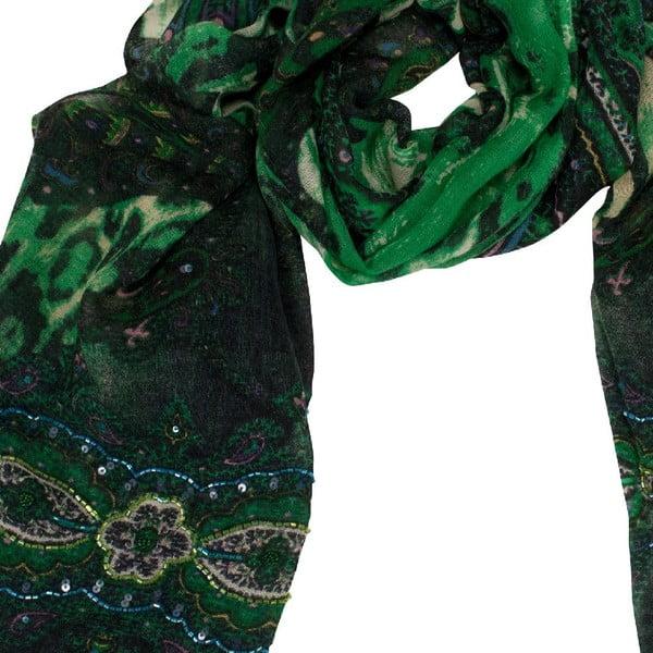 Vlněný šátek Shirin Sehan - Estelle Pine
