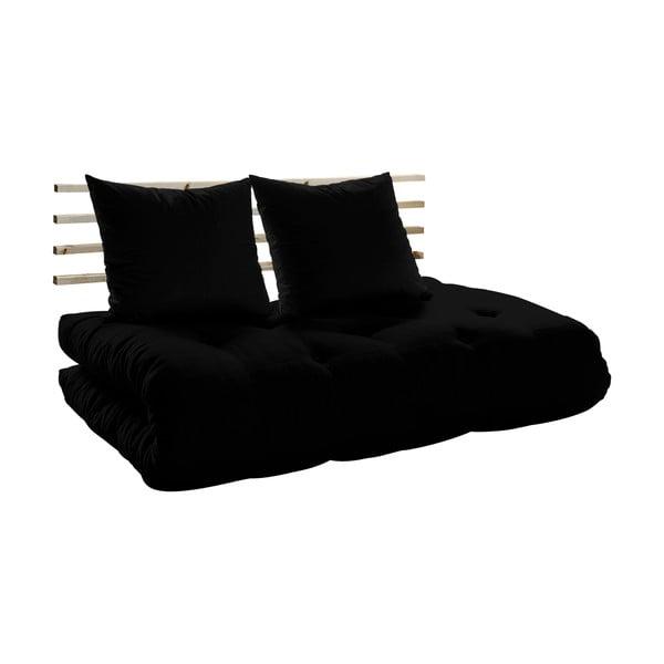 Canapea extensibilă Karup Shin Sano Natur/Black