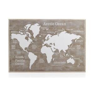 Dřevěné postelové čelo Geese Rustico World, 100 x 165 cm