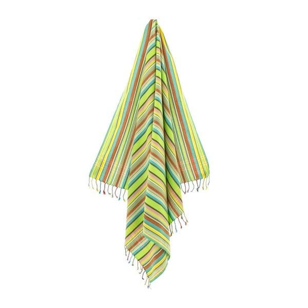 Ručník/pareo Tezzy Green, 100x178 cm
