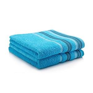 Sada dvou ručníků Hugo 50x90 cm, turquiose