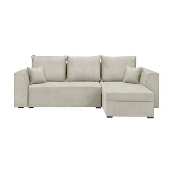Canapea/colțar extensibil Cosmopolitan design Dover, bej
