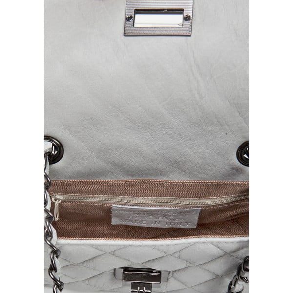 Kožená kabelka Markese 6997 Grey