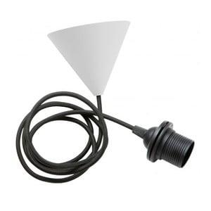 Závěsný textilní kabel Ceiling, černý