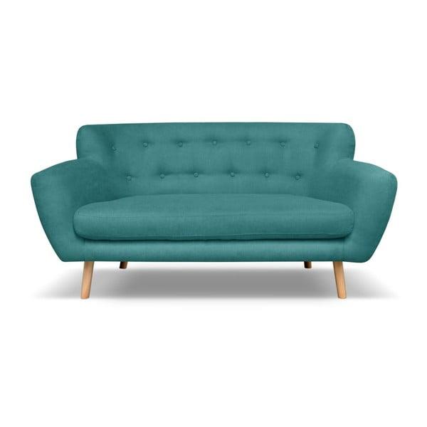 Zelenomodrá pohovka pre dvoch Cosmopolitan design London