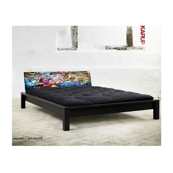 Postel Karup Tami Black/Graffiti Multicolor