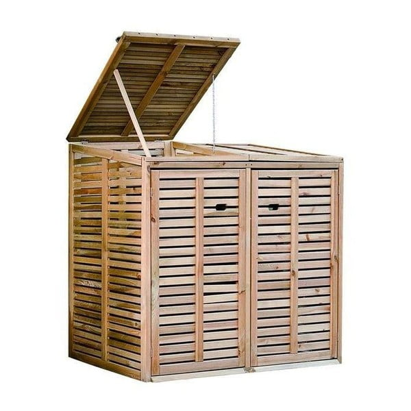 Zahradní box na popelnici Siesta, 145x87 cm