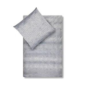 Povlečení na jednolůžko z damaškové bavlny Casa Di Bassi Vintage, 155 x 200 cm