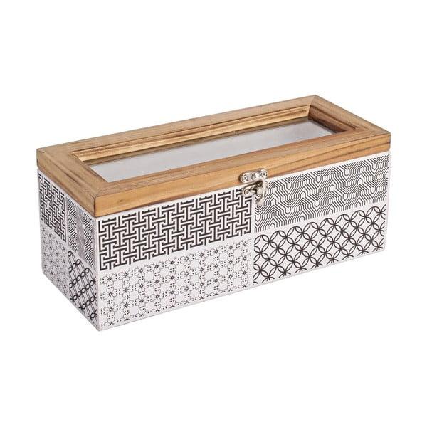 Úložná krabička Andrea, 25x11 cm