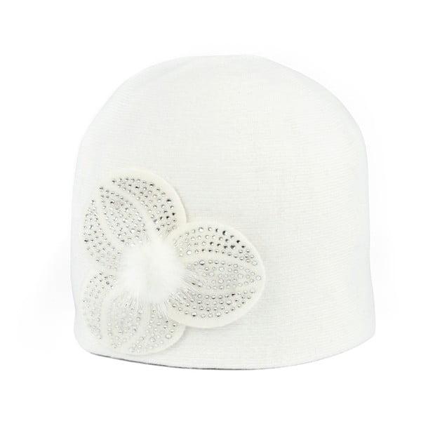 Čepice Elegant White