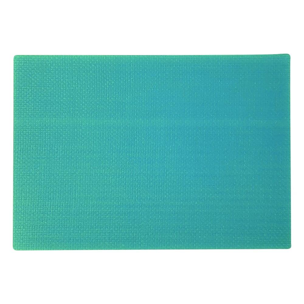 Tyrkysově modré prostírání Saleen Coolorista, 45 x 32,5 cm