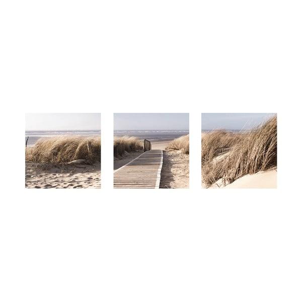 Samolepící obrazy Na pláži, 30x30 cm