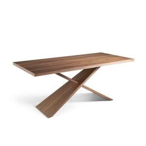 Masivní jídelní stůl z ořechového dřeva Ángel Cerdá Cayo, 95 x 200 cm