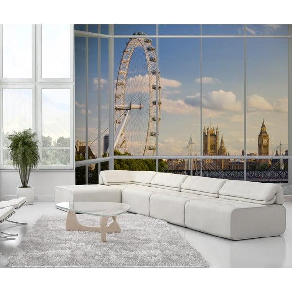 Velkoformátová tapeta Výhled na Londýn, 315x232 cm
