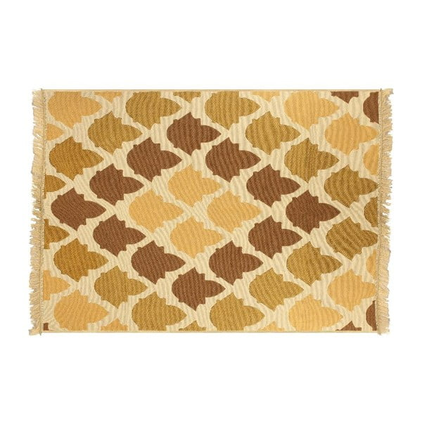 Hnědo-béžový koberec Ya Rugs Baklava, 120x180cm