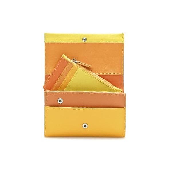 Peněženka a pouzdro na kreditní karty Orange