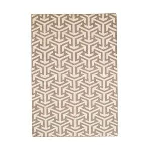Ručně tkaný koberec Bakero Kilim 103 Grey, 120x180 cm