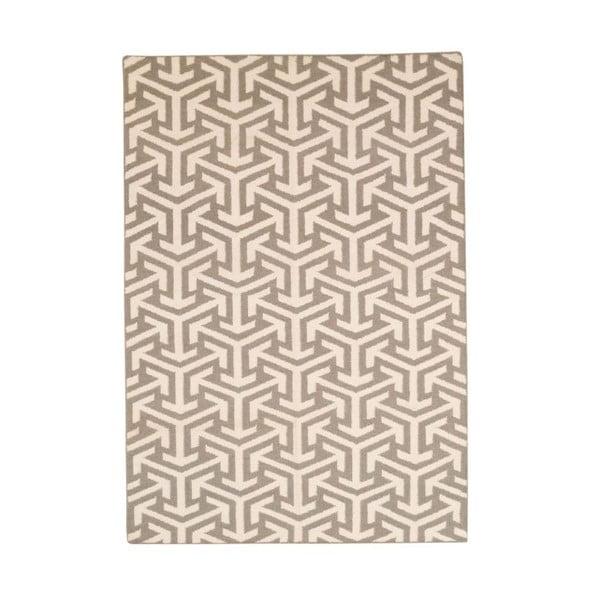 Ručně tkaný koberec Kilim 103 Grey, 155x240 cm