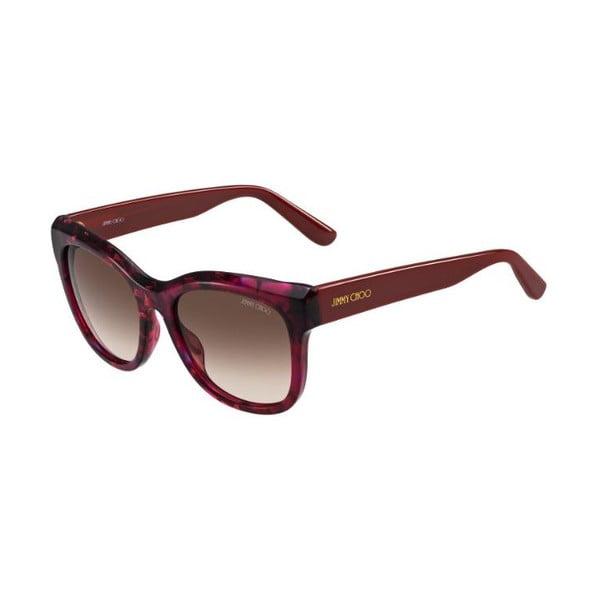 Sluneční brýle Jimmy Choo Nuria Burgundy/Brown