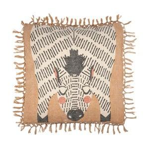 Dětský ručně potištěný polštář na sezení Nattiot Naia, 50 x 60 cm