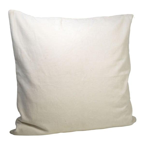 Sametový povlak na polštář White, 50x50 cm