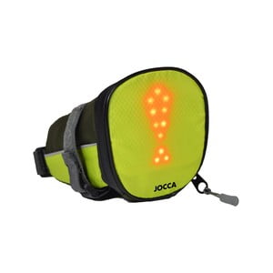 Zelená taštička na kolo se světelnými prvky JOCCA Bike