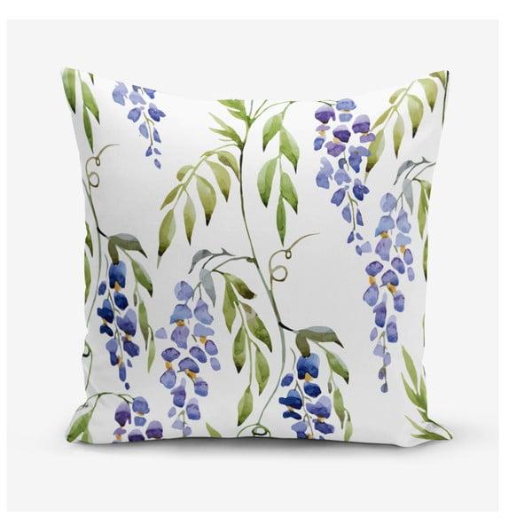 Povlak na polštář s příměsí bavlny Minimalist Cushion Covers Hyacint, 45 x 45 cm