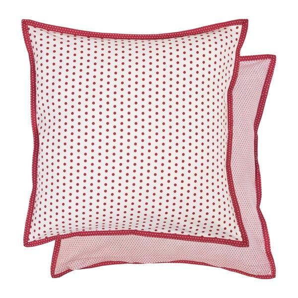 Červený povlak na polštář Clayre & Eef, 40x40 cm