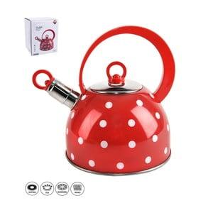 Nerezový čajník s odklápěcí píšťalkou Orion Karin, 1,8l