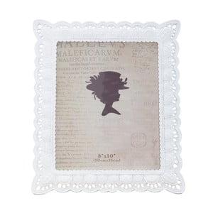 Bílý fotorámeček Mauro Ferretti Claudia, na fotografii 20 x 25 cm