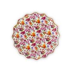 Porcelánový mělký talíř Melli Mello Isabelle, 17 cm