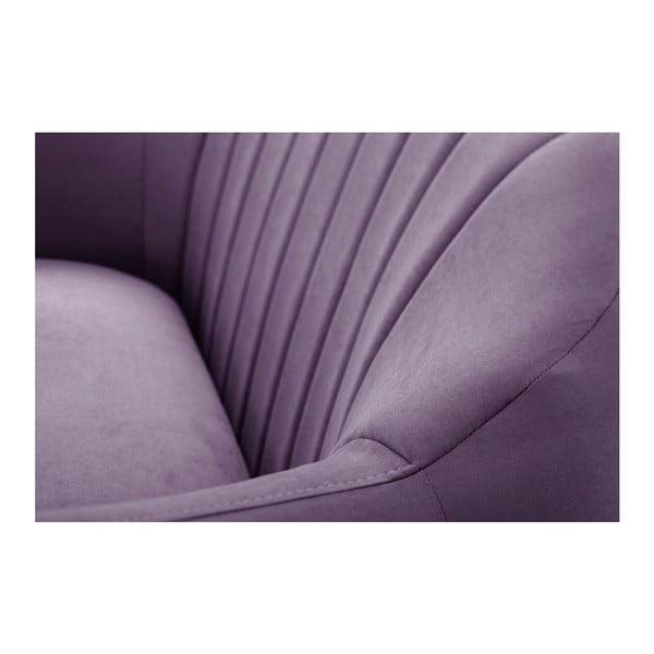 Dvoumístná pohovka Comete Stripes Purple
