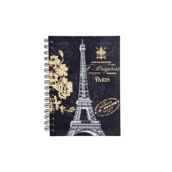Spirálový zápisník Tri-Coastal Design Paris Dream