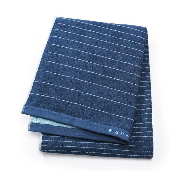 Ručník Esprit Grade 50x100 cm, jeansově modrý