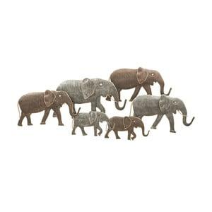 Decorațiune de perete Mauro Ferretti Elephant, 128 x 56 cm