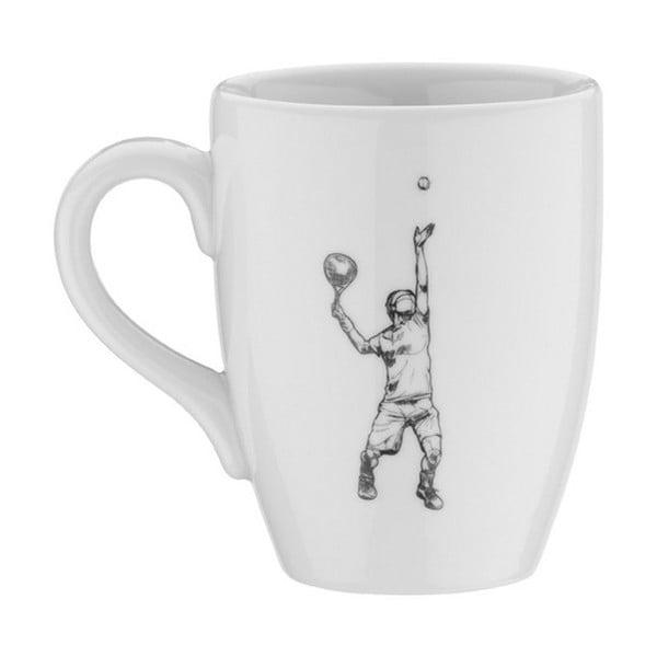 Porcelánový hrnek Tennis, 330ml
