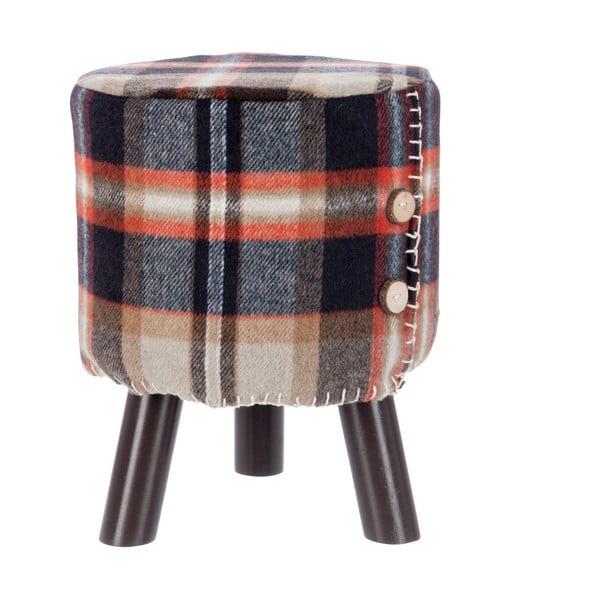 Stolička Scottish Check
