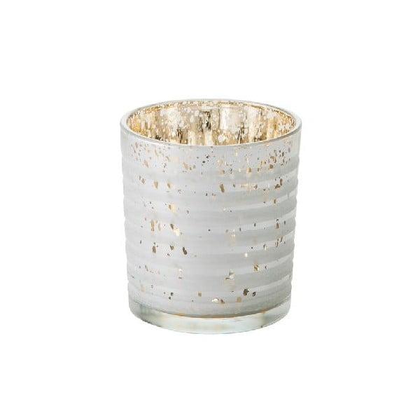 Kalíšek na svíčku Silver Stripe