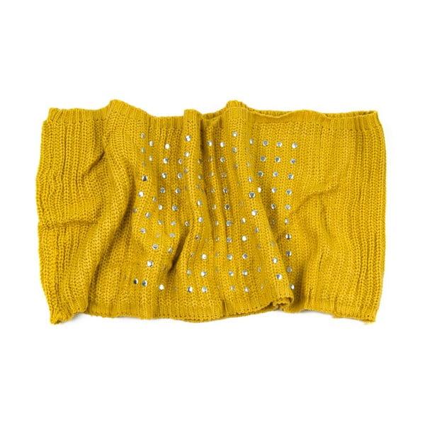 Kruhová šála Mia Yellow