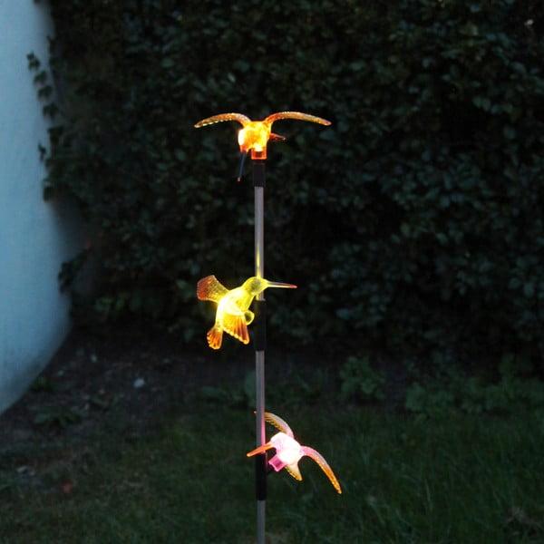 Solární zahradní LED dekorace Best Season Hummingbirds