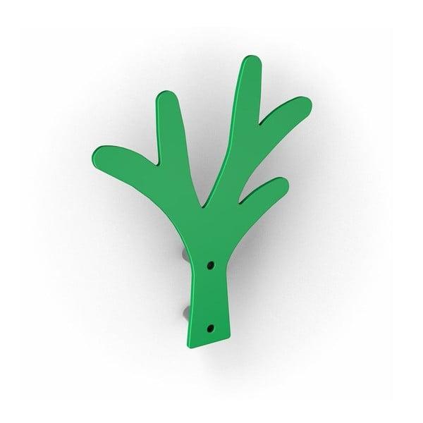 Zelené háčky Alber, 2 ks