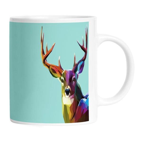 Keramický hrnek Majestic Deer, 330 ml