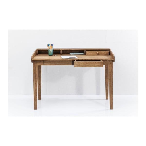 Birou din lemn masiv de stejar Kare Design Attento