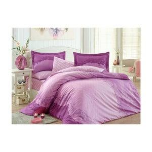 Lenjerie de pat cu cearșaf Filomena Pow, 200 x 220 cm
