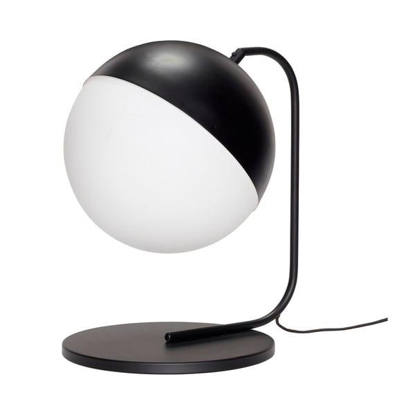 Černá stolní lampa Hübsch Mira