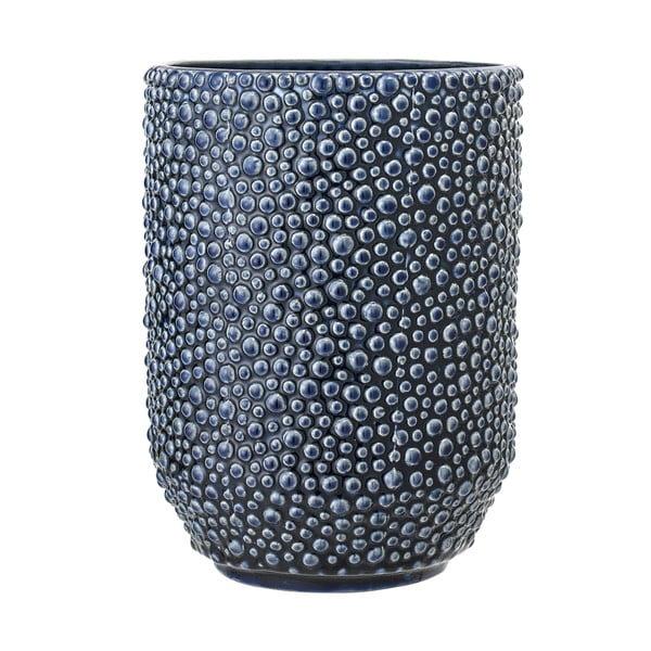 Vase kék kerámiaváza - Bloomingville