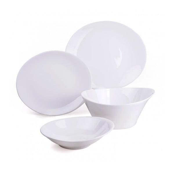 Porcelánová sada talířů a mís, 15dílná