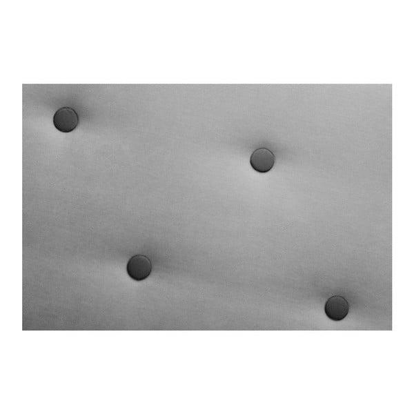 Šedá pohovka Constellation Grand s lenoškou na pravé straně