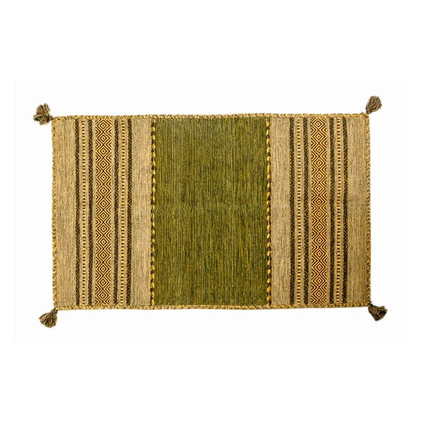 Ručně tkaný koberec Kilim Tribal 103, 90x60 cm